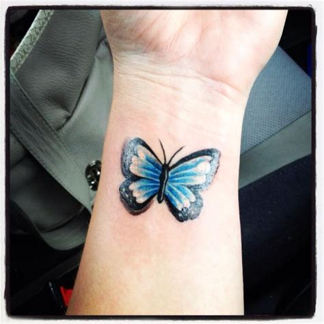 my butterfly wrist tattoo love pinterest