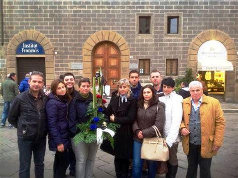 consolato francese italia una delegazione di forza italia della piana depone un