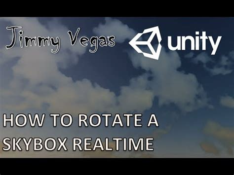 unity tutorial skybox unity mini tutorial how to rotate the skybox in realtime