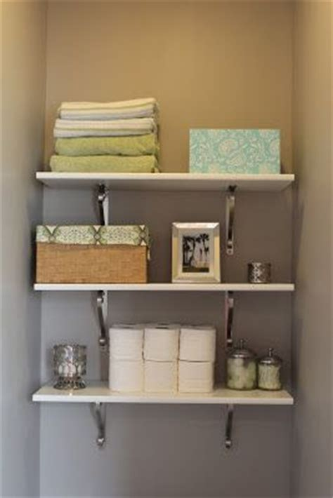 17 best ideas about floating shelves bathroom on pinterest 17 best images about half bath shelving above the toilet