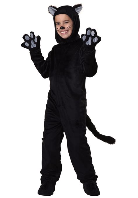 halloween mask and costumes child black cat costume