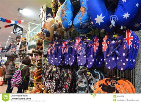 Souvenir Kaos Welcome Australia australian souvenir shop editorial stock image image of