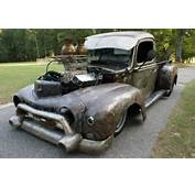 Blurring Lines 1947 Ford Pro Street Rat Rod Pickup