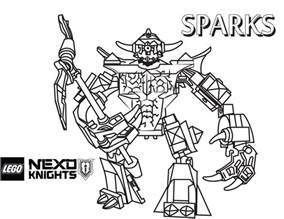 coloring book review song by song sparks coloring page printable sheet lego nexo knights