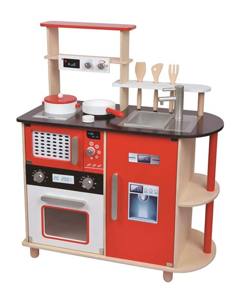 wooden kitchen wooden toy kitchens for little chefs homesfeed