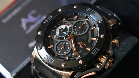 Alexandre Christie Ac 2559 Black Rosegold alexandre christie collection ac 9205 black rosegold stainless steel