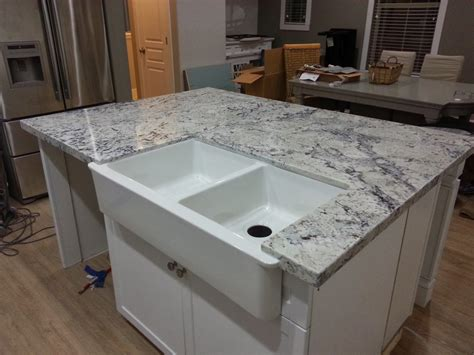 white wooden kitchen island with gray marble counter top granite countertops pros and cons adorable grey with