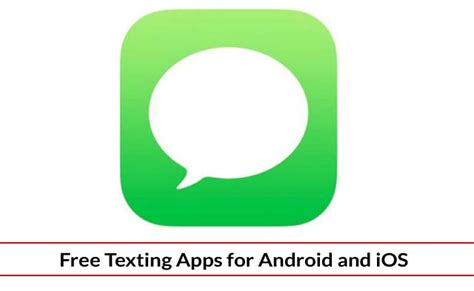 free text apps for android texting apps android and ios as alternative apps for default sms app
