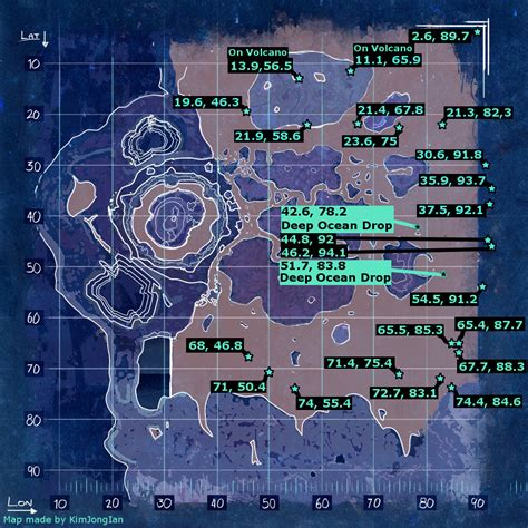 the center sea loot crate map november 2017 ark