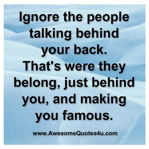 talk quotes quotes about talking your back quotesgram