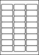 24 Label Template by L7159 24 Labels Per Page 24 Up Per A4 Sheet Avery L7159