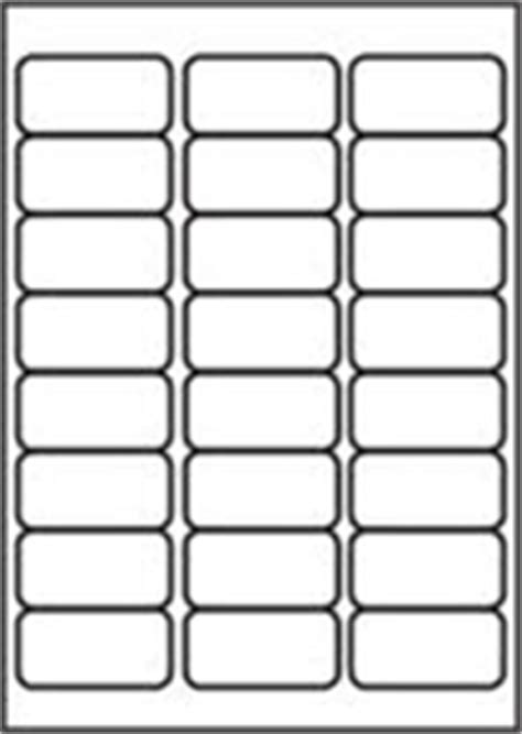 Label Template 24 Per Sheet Printable Label Templates 24 Labels Per Sheet Template Free