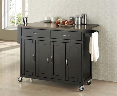 Wholesale Kitchen Cabinet Hardware by Room Vault Black Wood Modern Kitchen Cart