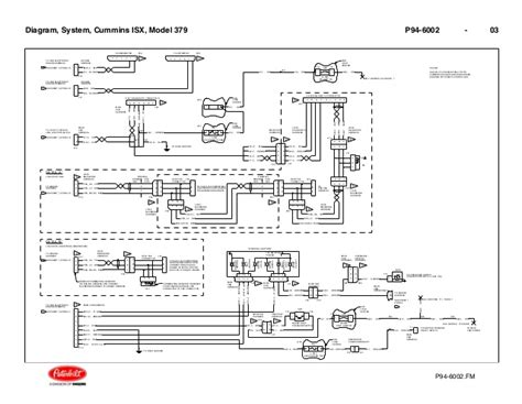 cummins isx wiring diagram