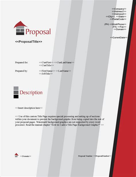 design proposal title proposal pack architecture 1 software templates sles