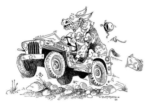 army jeep drawing artists drawings ewillys page 9