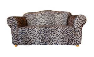 two seater leopard print sofa cover by sure fit