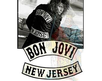 Patch Bon Jovi New Jersey bon jovi etsy