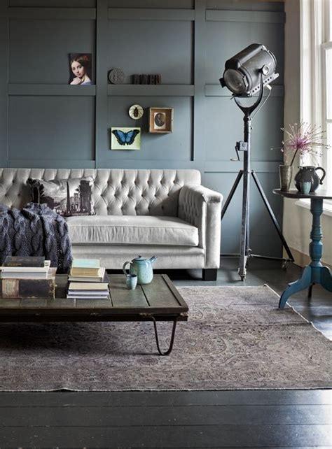 pareti grigie soggiorno come arredare casa