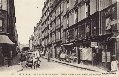 Rue De La Grange Batelière by Rue De La Grange Aux Belles Xe Arr