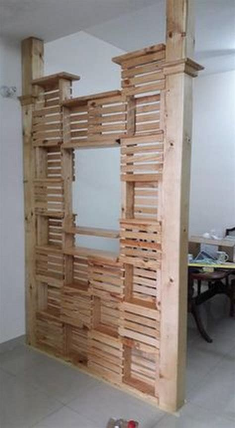 Pallet Room Divider Diy Pallet Room Divider Ideas Pallet Wood Projects