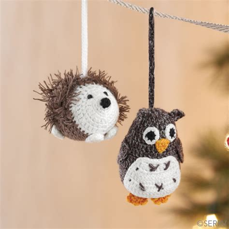 christmas ornaments herbie hedgehog ornament