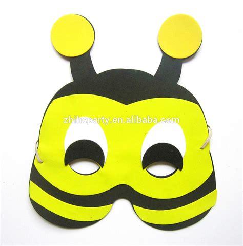 printable bee mask template eva bee mask for kids buy eva foam bee mask eva animal