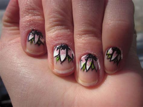 lotus nails маникюр с цветами