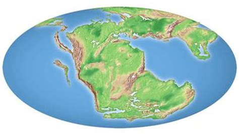 map world before land separated pangea continent the earth before the flood
