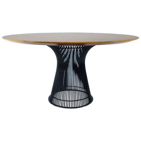 platner dining table warren platner dining table at 1stdibs