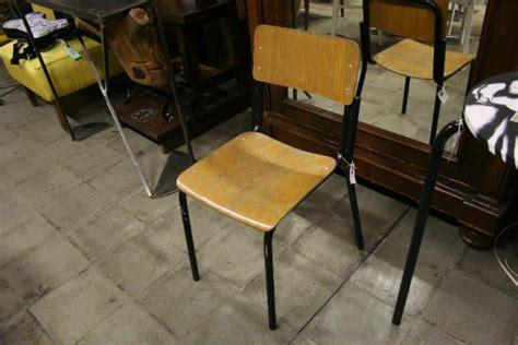 sedie scuola arredare la casa con mobili di recupero tiriordino