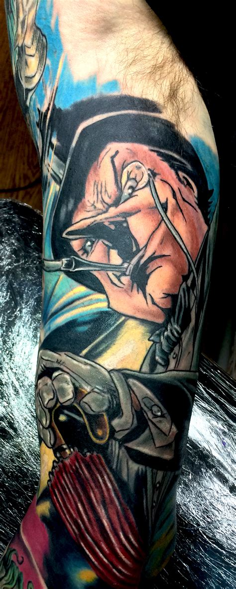 batman penguin tattoo the penguin by chad miskimon evolved body arts