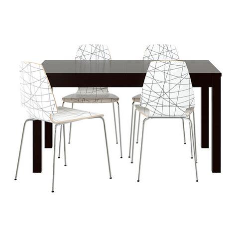tavolo bjursta ikea bjursta vilmar bord och 4 stolar ikea