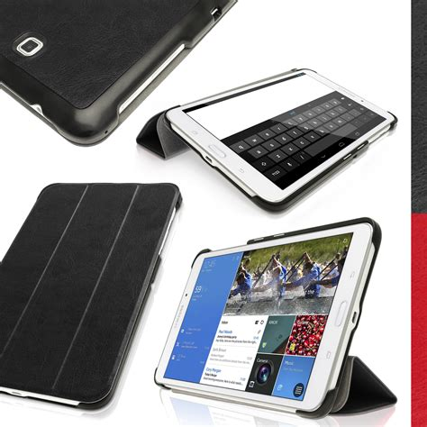 Samsung Tab 4 8 T330 Defender Cover Casing Sarung igadgitz pu leather smart for samsung galaxy tab 4 8 0 quot sm t330 sm t335 cover with sleep