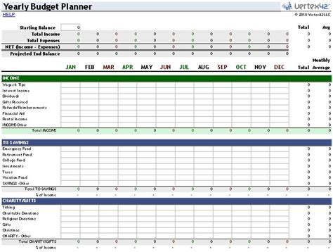 25 best ideas about excel budget template on pinterest