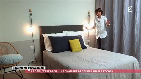 decoration des chambres de nuit d 201 co une chambre de simple et cosy ccvb