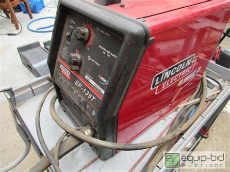 lincoln electric sp 135t lincoln electric sp 135t welding set up gladstone tool