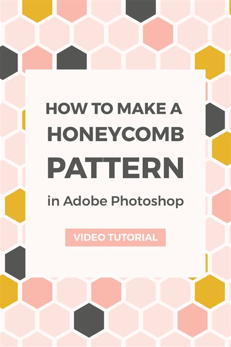 pattern maker photoshop cc 2017 create a seamless honeycomb pattern in photoshop elan
