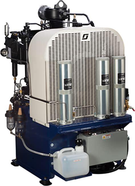 hush compressor scott compressors supplied air fill