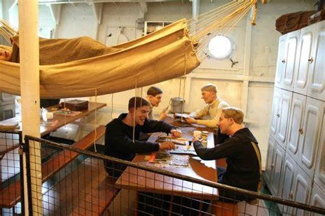 Kong Beds Inside Hms Belfast Picture Of Hms Belfast London