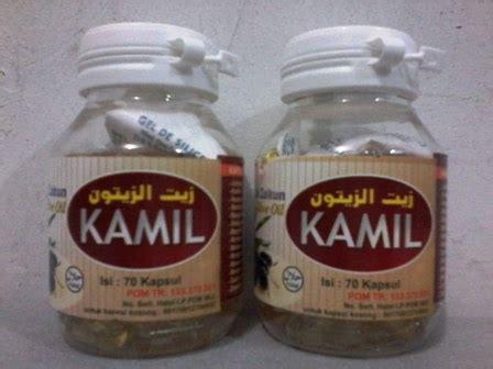 Kamil Minyak Zaitun Isi 70 Kapsul Olive Evoo 210 kamil minyak zaitun 70 kapsul ungaran toko herbal ungaran apotek herbal ungaran toko obat