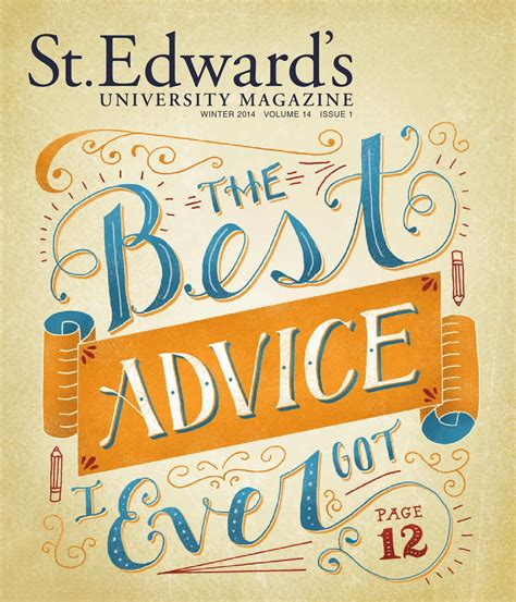 St Edwards Mba Gmat by St Edward S Magazine Winter 2014 By St Edward