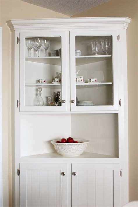 Corner Cabinet Dining Room Hutch 25 Best Ideas About Corner Hutch On Pinterest White Corner Cabinet White Corner Shelf Unit
