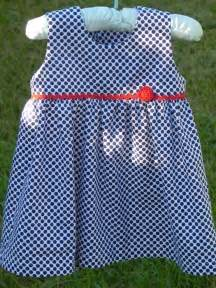 Here is a free sewing pattern for this baby dress 6 12 months size