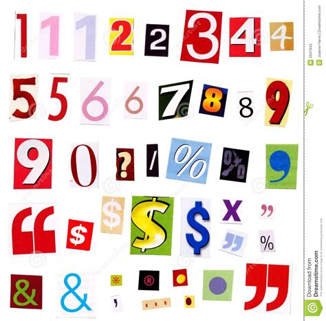 magazines by the numbers state of the news media 2015 numbers magazine cutouts stock image image of advertising