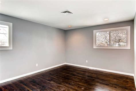 gray walls white baseboards dark hardwood floors decorate your space pinterest white