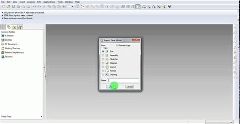 pro engineer pattern youtube pro e creo iges step import export tutorial