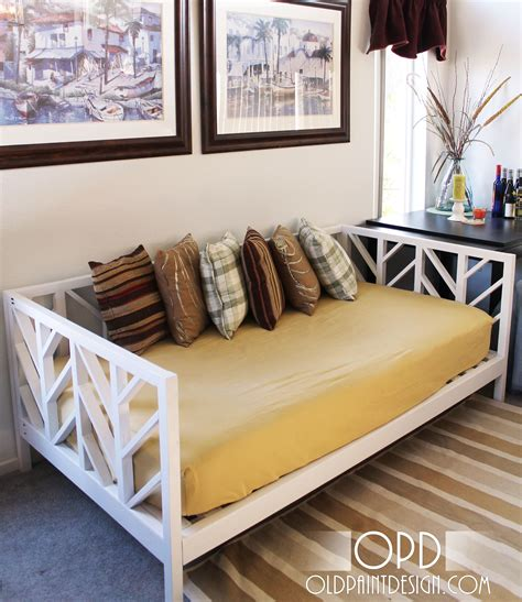 how to build a daybed frame ana white build a stacy daybed free and easy diy