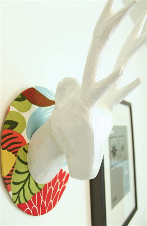 spinning l that projects pictures on the walls remodelaholic 9 00 diy deer decor idea