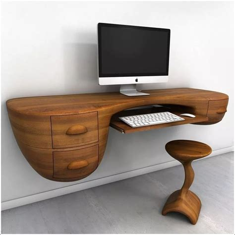 Computer Desk Wall by 25 Best Ideas About Wall Mounted Computer Desk On